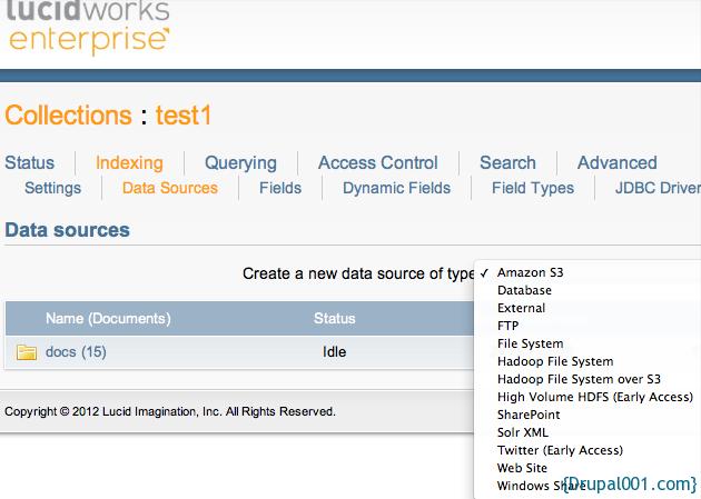 Lucidworks Datasouce